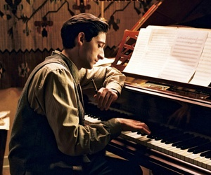 music, pianist, and vintage image