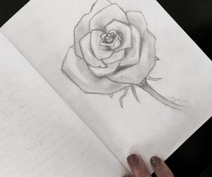 art, draws, and nails image