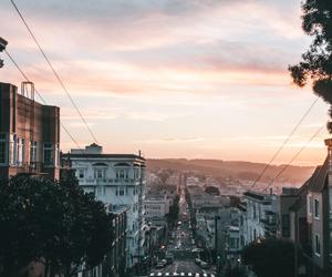 beauty, sundown, and cars image