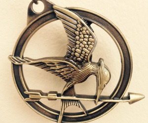 beautiful, necklace, and the hunger games image