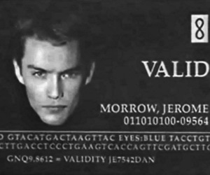 Gattaca, jude law, and jerome morrow image