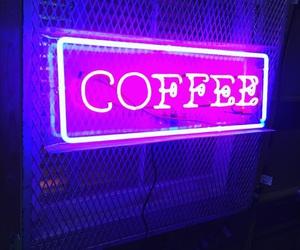 coffee, light, and purple image