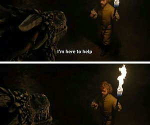 funny, game of thrones, and tyrion+lannister image