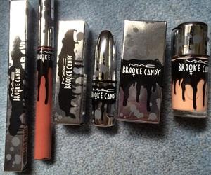 lipgloss, lipstick, and mac image