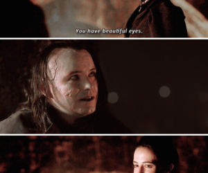 eva green, the creature, and penny dreadful image