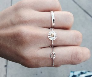 rings, flowers, and accessories image