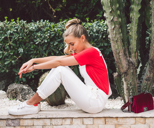 fashion, janni deler, and jeans image