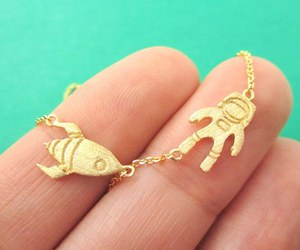charms, jewelry, and nasa image