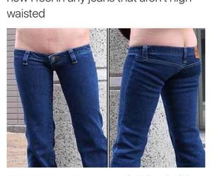 funny, jeans, and lmao image
