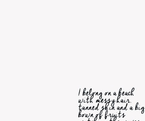 quote, beach, and summer image
