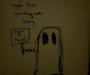 found, ghost, and losing image