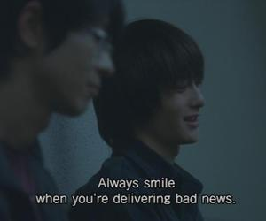 bad, quote, and smile image