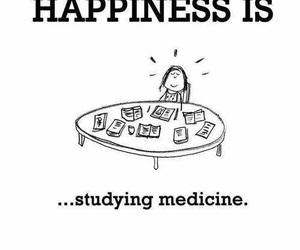 medicine, happiness, and study image