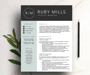 cover letter, curriculum vitae, and professional resume image