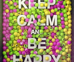 happy, keep calm, and smile image
