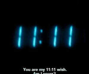 wish, 11:11, and grunge image