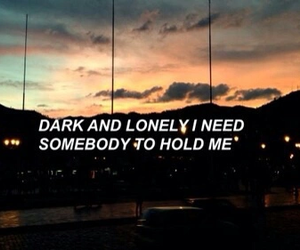quotes, dark, and grunge image