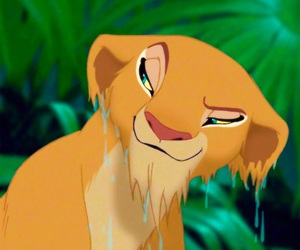 disney, the lion king, and nala image