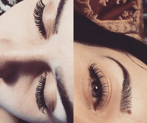 extension, extensions, and eyebrow image