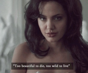 Angelina Jolie, beautiful, and wild image