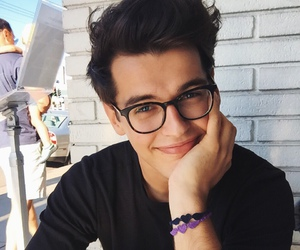 boy, blake steven, and glasses image