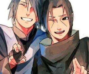 itachi, sasuke, and naruto image