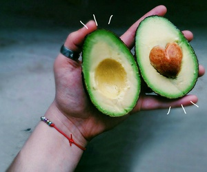 avocado, edit, and cute image