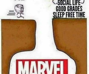 comic books, films, and Marvel image