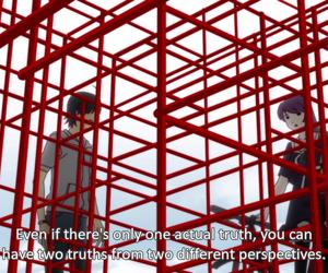 truth, senjougahara hitagi, and bakemonogatari image