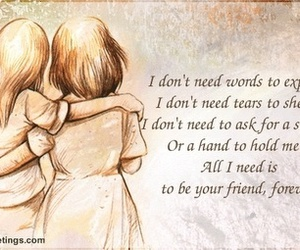 friends, friendship, and quotes image