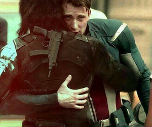 captain america, steve rogers, and stucky image