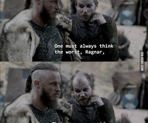 life, quotes, and vikings image