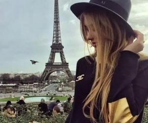 paris, france, and hat image