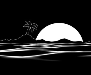 black, indie, and the beach image