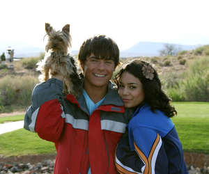 vanessa hudgens, zac efron, and high school musical image