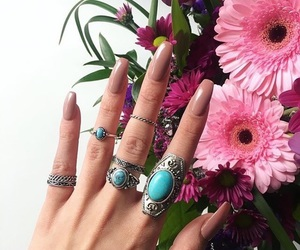 nails, flowers, and accessories image
