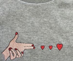 bang, heart, and red image