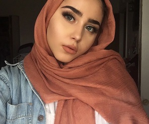 beautiful, muslima, and beauty image