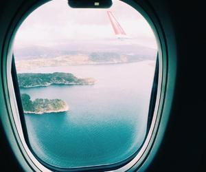 air, aircraft, and airplane image