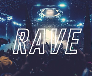 rave, music, and edm image