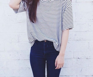 clothes, girl, and jeans image