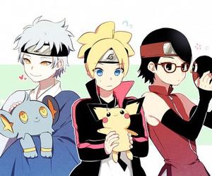 pokemon, mitsuki, and naruto image