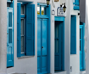 blue and places image