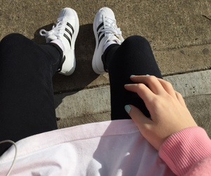 adidas, aesthetic, and outfit image