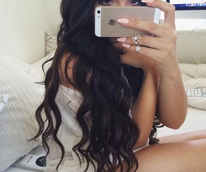 beauty, longhair, and nails image