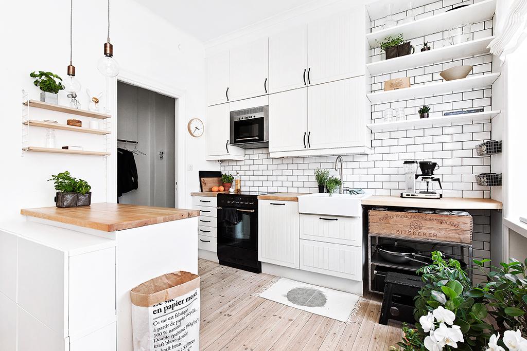 interior, kitchen, and decoration image