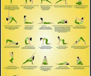 yoga, back, and workout image