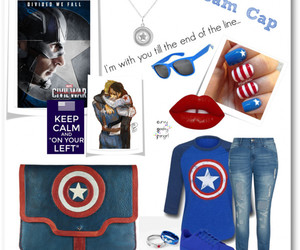 captain america, plus size, and steve rogers image
