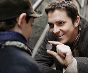 christian bale, the prestige, and film image