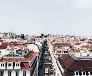 city, lisbon, and portugal image